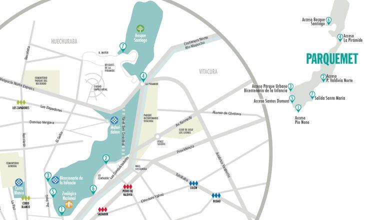 Parque Metropolitano de Santiago: Um Incrível Parque Urbano https://mydestinationanywhere.com/2014/10/11/parque-metropolitano-de-santiago/