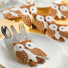 owl cutlery holder www.myowlbarn.com <3