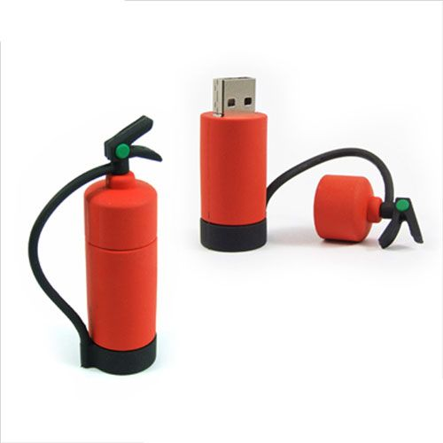 Fire extinguisher USB drive | Shared by LION