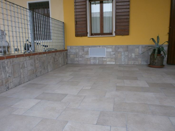 Pavimento esterno di villetta privata - Outdoor floor of private villa