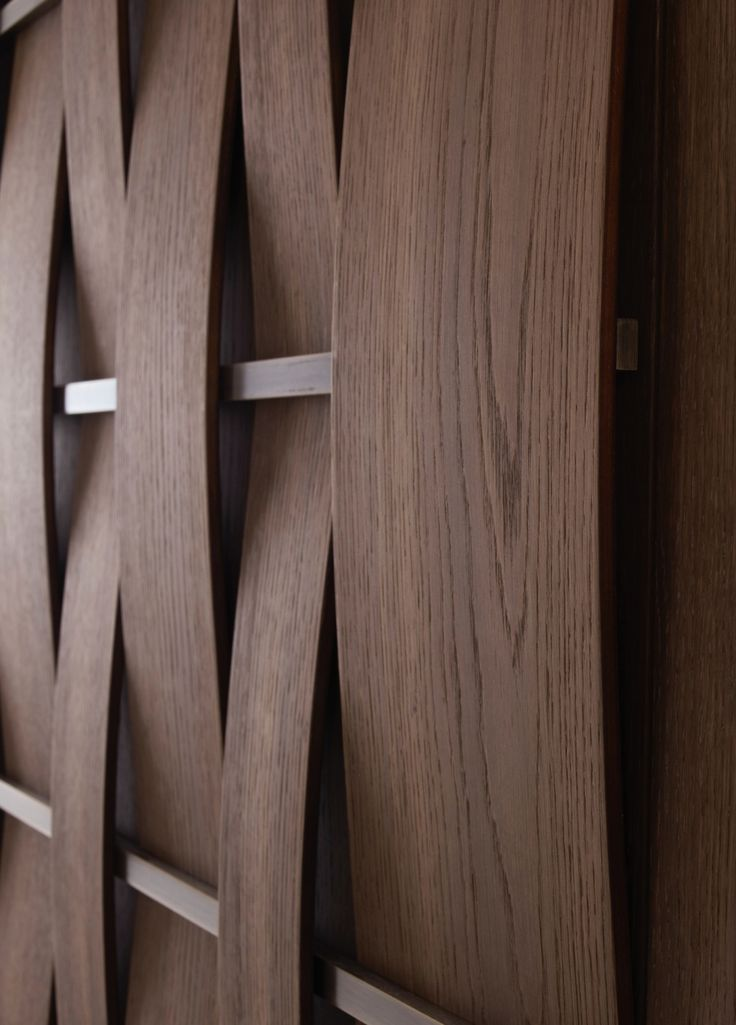 Woven wood and metal Pin from emmemobili.it