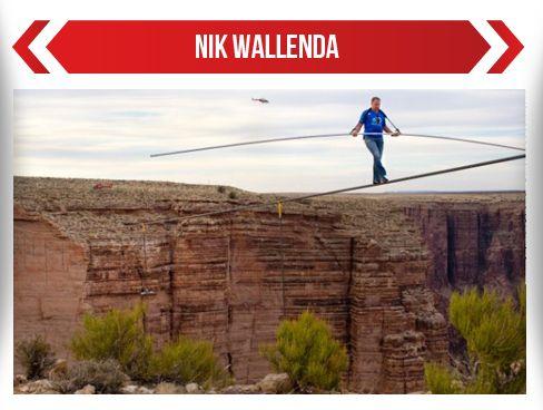 Hombre cruza el Gran Cañón sobre cuerda floja