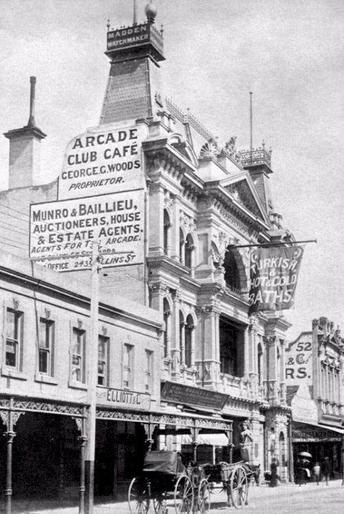 Prahran Arcade, Chapel Street, 1891
