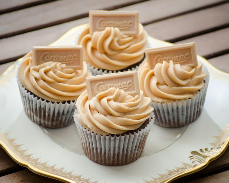 My homemade Caramac Cupcakes - delicious!