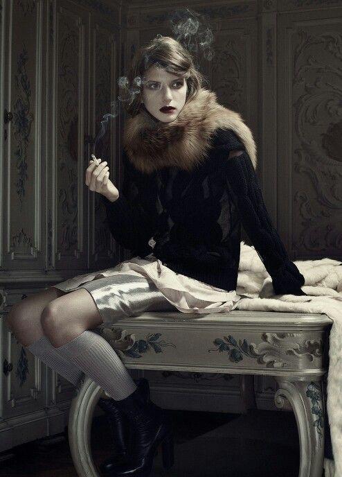 Caterina Ravaglia by Erwin Olaf for Grey Magazine