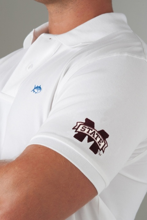Mississippi State University: Style, Clothes, Gift Ideas, Nc State University, Florida State University, Polo Shirts, U.S. States, Collegiate Polo, Boyfriend Stuffs
