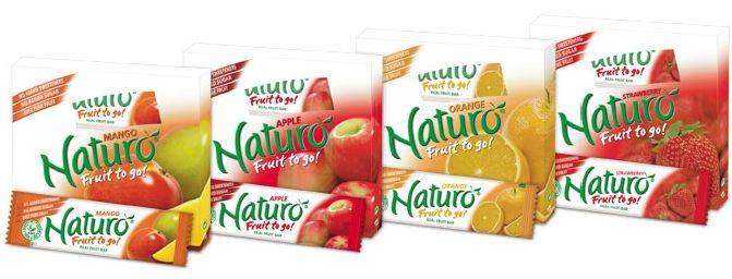 Naturo Fruit Bars - vegan