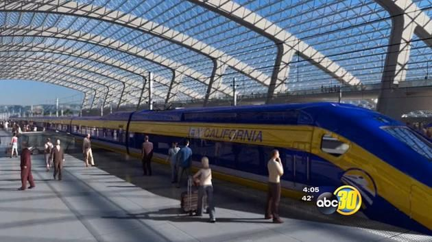 California High Speed Rail groundbreaking set | abc30.com
