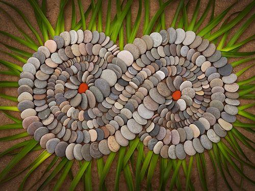 land art english, creations in nature /  Dietmar Voorwald