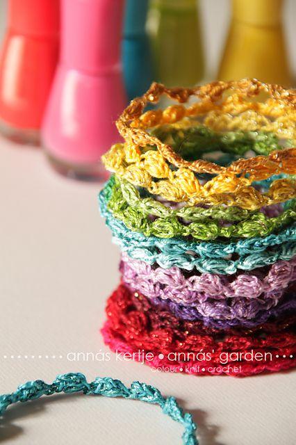 Holiday Bracelet Crochet Pattern