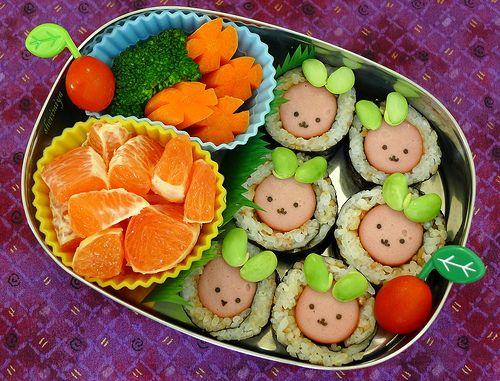 Happy Little Bento: Sushi Bunnies Bento
