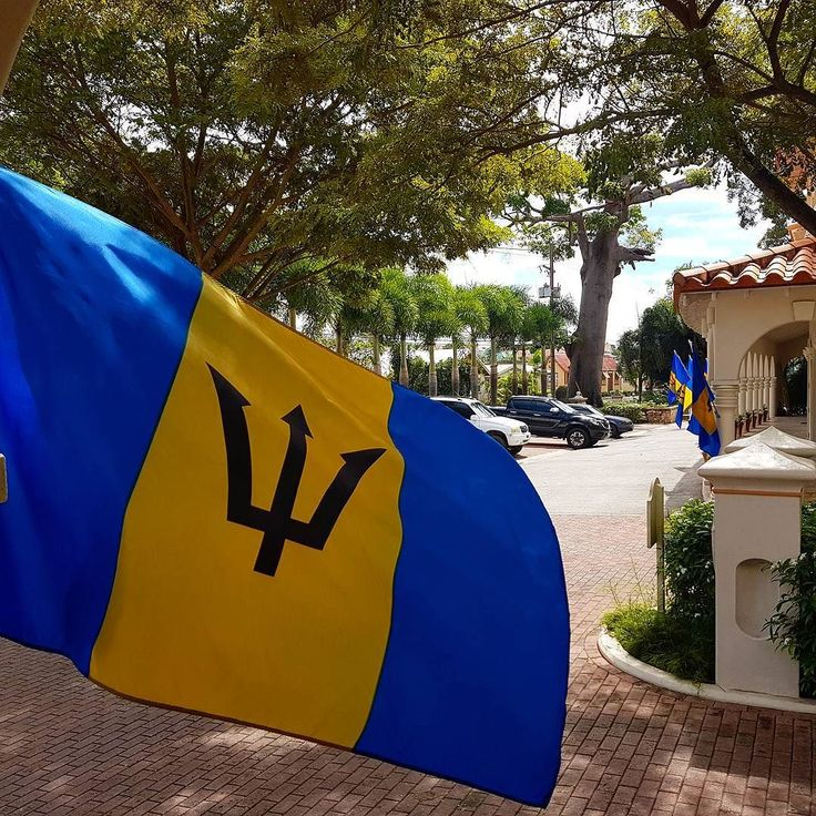 Who Flies To St Kitts: 1000+ Ideas About Barbados Flag On Pinterest