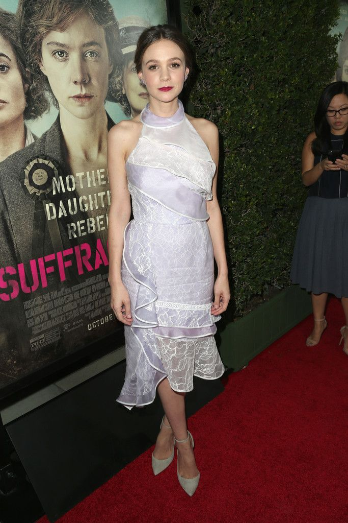 Carey Mulligan   - Premiere of Focus Features' 'Suffragette'