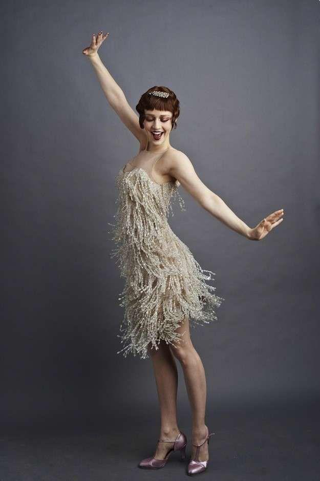 Vuelve a la moda el estilo años 20: fotos de los looks - Flapper dress …                                                                                                                                                                                 Más