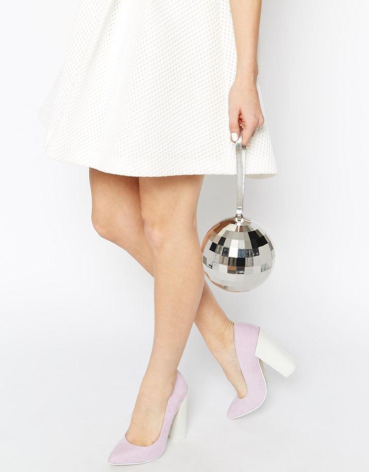 Image 2 - Lulu Guinness - Pochette en forme de boule disco