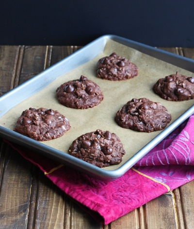 Dessert For Two - Dark Chocolate Double Coconut Cookies