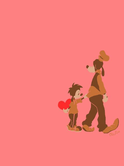 A Son's Love | by かんた @ Pixiv.net // goofy and max; goof troop