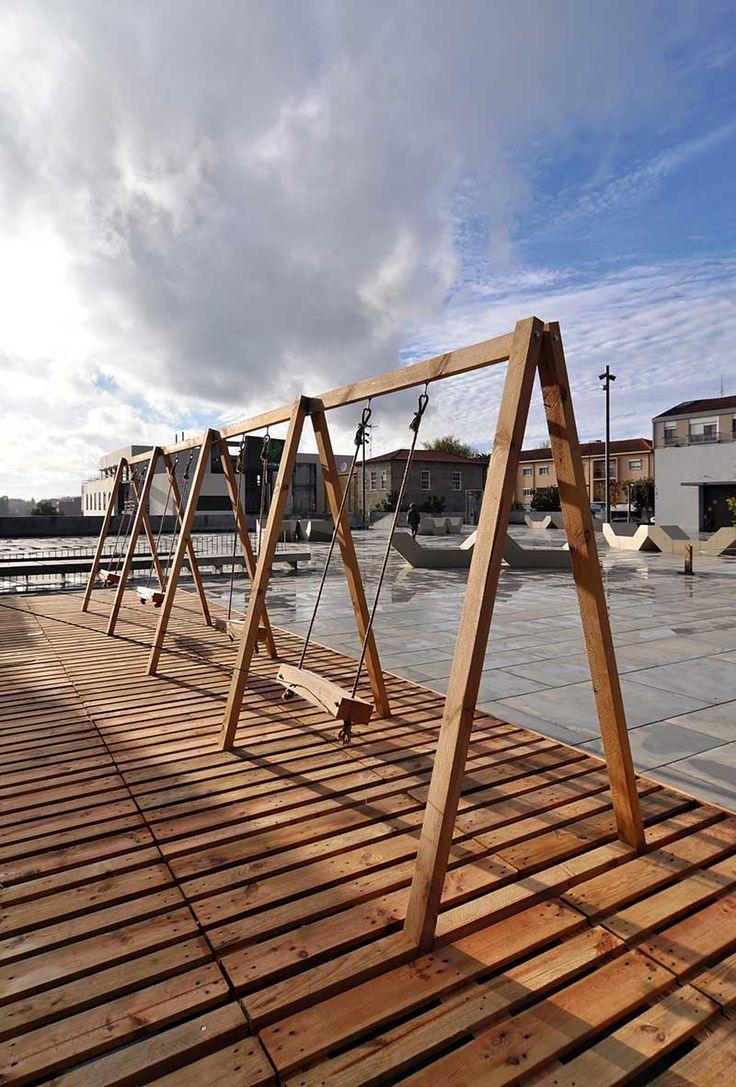 Качели как способ сохранения наследия города