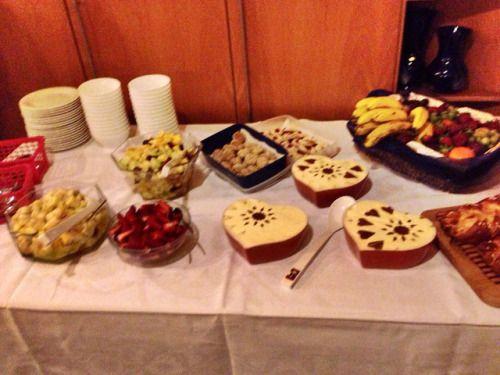 Dessertbuffet Gründonnerstag Hochzeit 2017