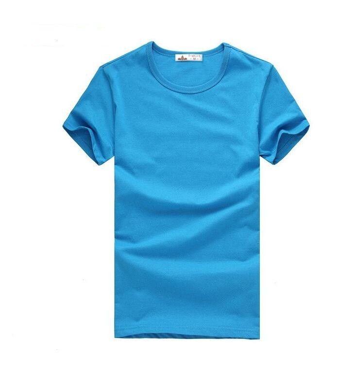 Pánské jednobarevné triko s krátkým rukávem světle modré – VELIKOST L Na tento produkt se vztahuje nejen zajímavá sleva, ale také poštovné zdarma! Využij této výhodné nabídky a ušetři na poštovném, stejně jako to udělalo …