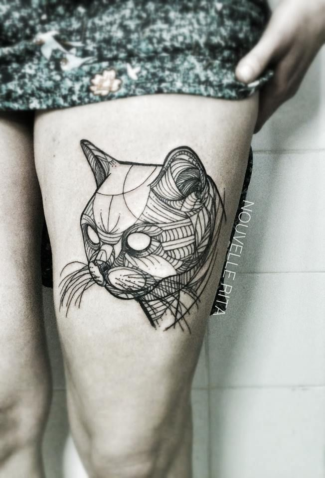 Nouvelle Rita #Gato #Cat #Tatto