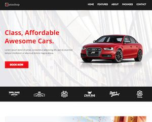 Car Rental unbounce landing page template http://www.templatesparkle.com/landing-pages http://www.templatesparkle.com/livedemo/unbounce-autoshop