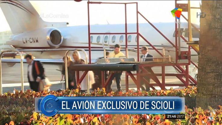 """Informe """"El avión exclusivo de Scioli"""" de H.Macchiavelli, con P.Oliveto ..."""