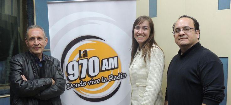 En la radio en Paraguay