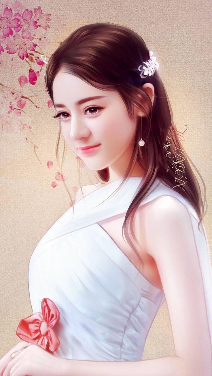 迪丽热巴 (Dilreba Dilmurat) (Dengan gambar) Gadis cantik