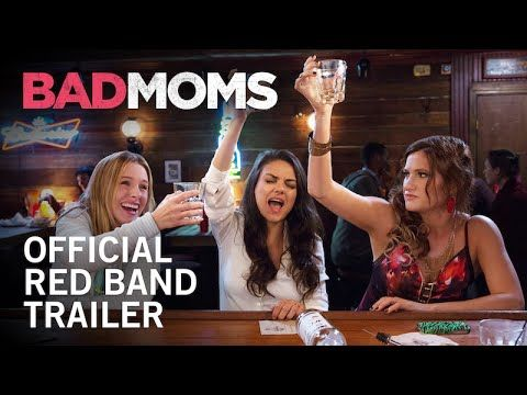 What happens when your everyday, over-worked mom is pushed to her breaking point? Watch the NSFW red-band trailer for #BadMoms starring Mila Kunis, Kristen Bell, Christina Applegate, Jada Pinkett Smith, Kathryn Hahn, and Annie Mumolo. In theaters July 29th.