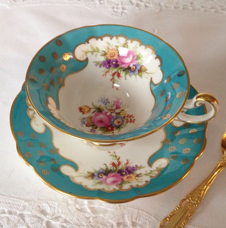 Beautiful EB Foley China Tea Cup u0026 Saucer & 1104 best Shelley cups/saucers images on Pinterest | Coffee ...