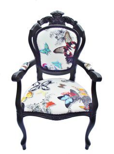 butterfly fabric chair - Google Search