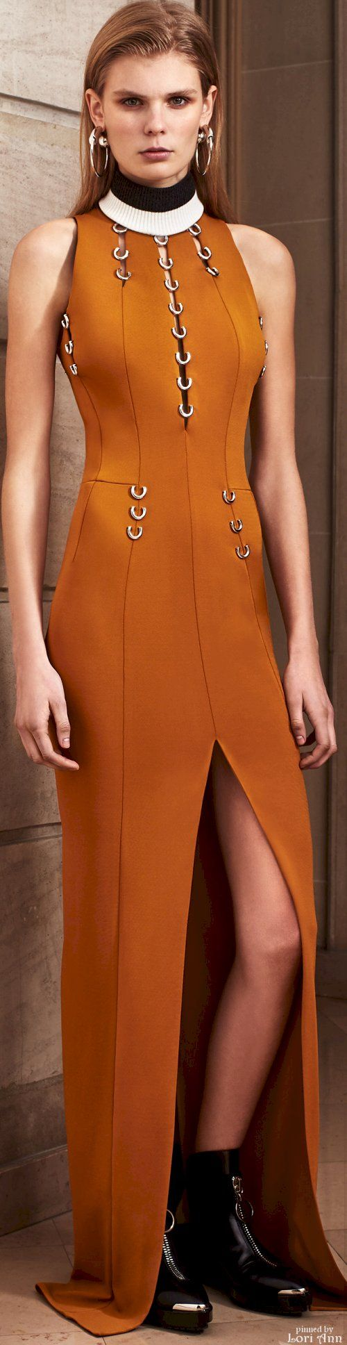 Mugler Pre-Fall 2016 women fashion outfit clothing style apparel @roressclothes closet ideas