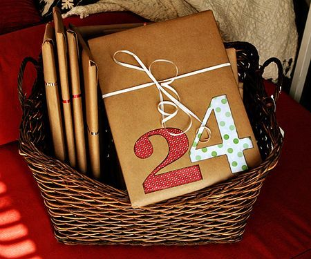 this is an advent idea BUT what if it were a b-day gift - amount of books based on age...