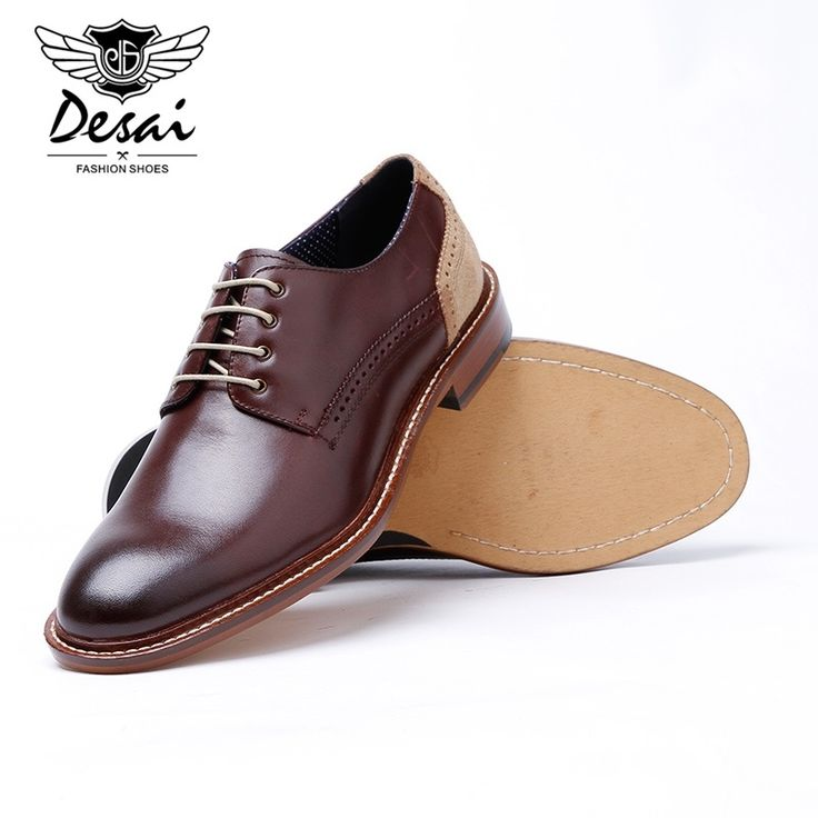 Men Retro Brogue British Style Pointed Toe Wedding Dress Casual Derby Shoes  is designed for formal occasion, more high-quality men formal shoes are on  sale ...