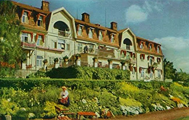The Hotel Siljansborg 1909-1982, was a premier hotel in Rattvik Sweden for many years!