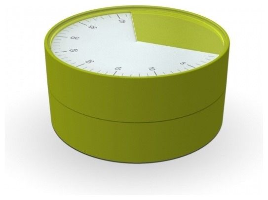 Pie Kitchen Timer, Pink modern timers thermometers and scales