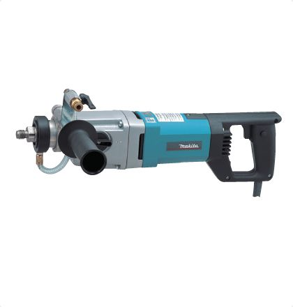 Makita DBM131 Diamond Core Drill     Heavy duty wet diamond core drill with powerful 1,700W motor for shock-free and accurate drilling into concrete and natural stone.     Electronic torque limitation and speed control for a constant speed even under load. For More Details: http://www.mrthomas.in/makita-dbm131-diamond-core-drill_44
