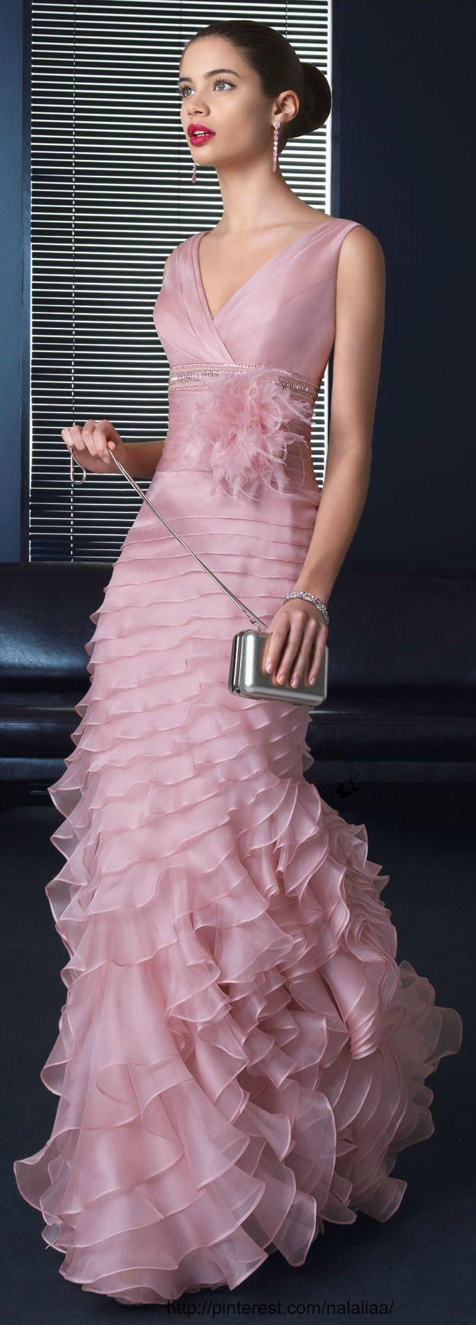 100 besten Abendkleider Bilder auf Pinterest | Rüschen, Abendkleid ...