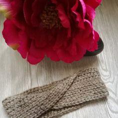 Fascia paraorecchie modello infinity - fascia per capelli- headband - turbante