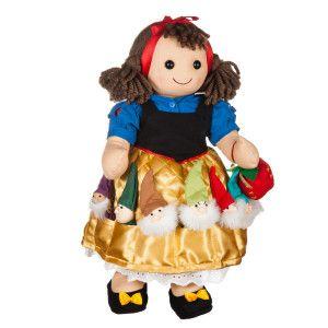 Bambola in stoffa Biancaneve  http://www.gioconaturalmente.it/categoria-prodotto/bambole/