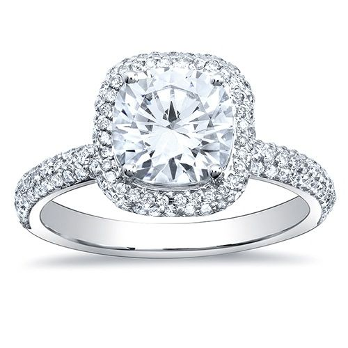 engagement ring | my engagement ring posts related to cushion cut halo engagement rings ...