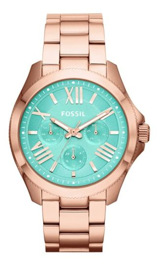 rose gold/mint bracelet watch  http://rstyle.me/n/qhkx6pdpe