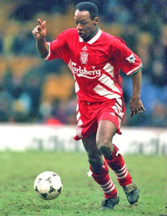 Mark Walters of Liverpool in 1995.