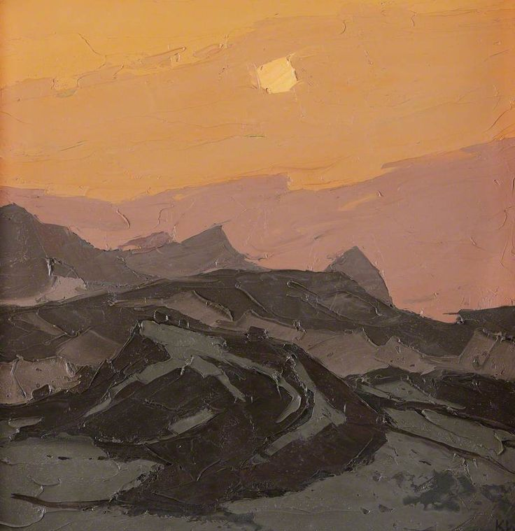 Talsarn by Kyffin Williams Hereford Museum and Art Gallery Date painted: 1981 Oil on canvas, 58.3 x 58.6 cm