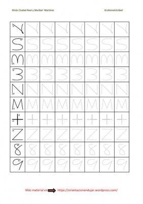 ejercicios de grafomotricidad para niños de primero de primaria - Buscar con Google