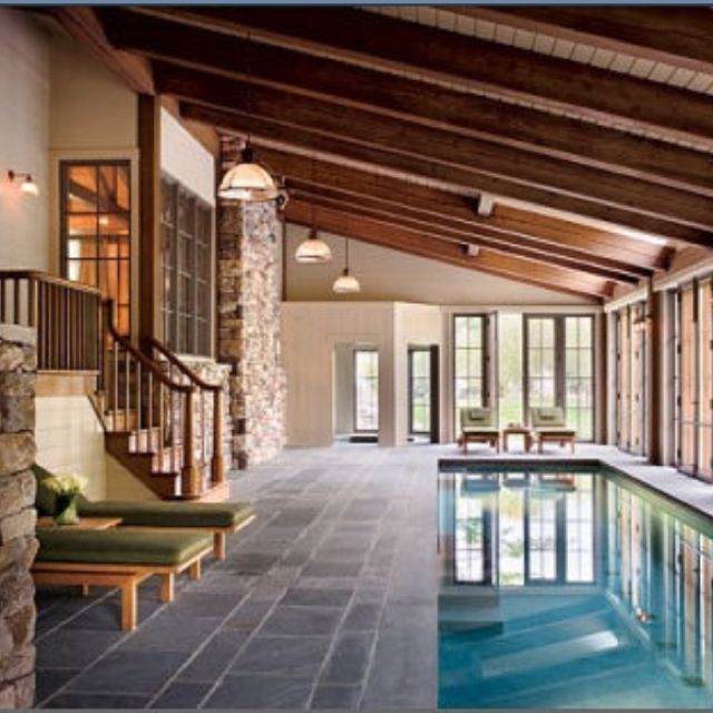 indoor pool - beautiful dream. :)