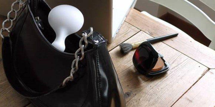 specchio da borsa in morbido gel MY LITTLE LOVE - by GEELLI - design Sergio Mori http://www.geelli.com/