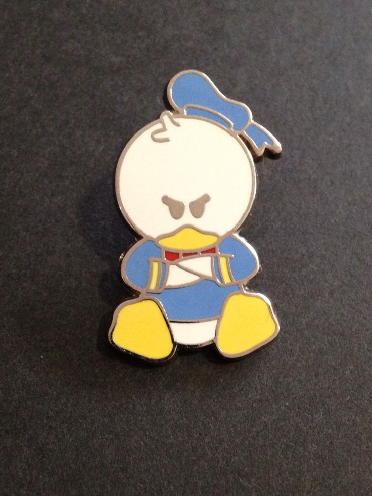WDW Mini-pin collection - cute characters- Donald Duck