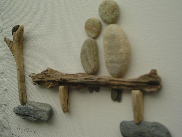 Mejores 199 im genes de cuadros con piedras en pinterest - Cuadros con piedras ...
